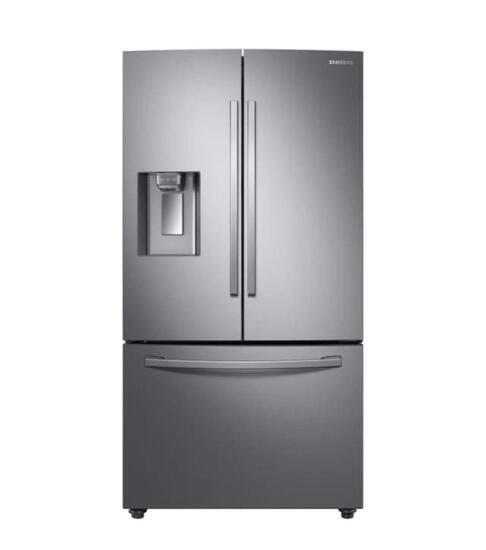 Samsung 28 cu. ft. 3-Door French Door Refrigerator in Stainless Steel with AutoFill Water Pitcher