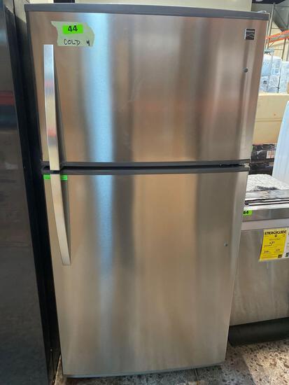 Kenmore 21 cu. ft. Energy Star Top-Freezer Fridge Fingerprint-Resistant Stainless Steel