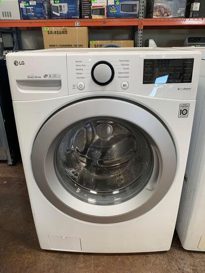LG Washer 4.5-cu ft High Efficiency Stackable Front-Load ENERGY STAR