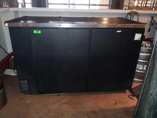 Beverage Air 2 Door Reach In Bar Back Refrigerator