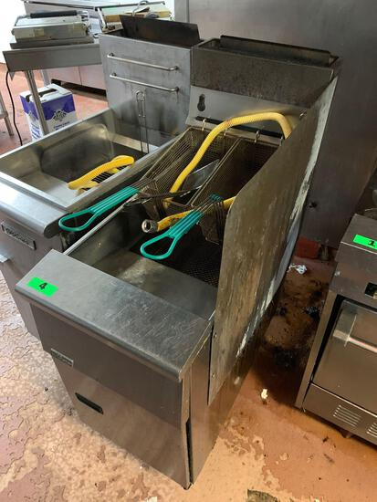 Pitco Frialator Commercial Natural Gas Fryer