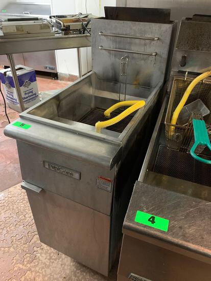 Pro Core Commercial Natural Gas 50lbs. Capacity Fryer