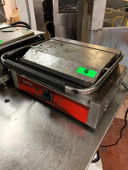 Avantco Equipment Commercial Sandwich Grill