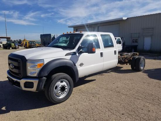 2012 Ford F550 Crew Cab Cab & Chassis 4x4