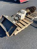 Bobcat Model 12 post auger.