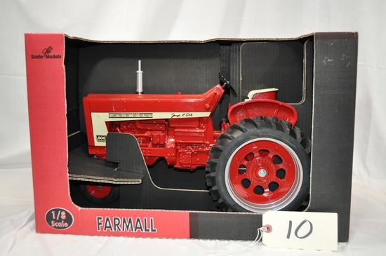 Scale Models Farmall 806 Diesel - Signed by Joseph Ertl - 1/8th scale
