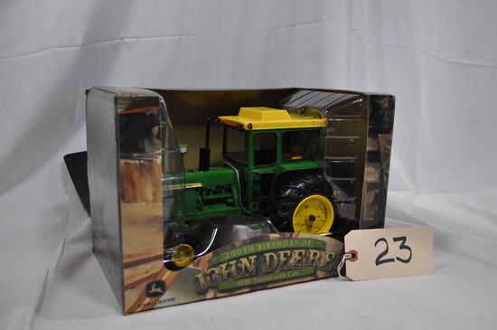 John Deere 4020 with cab - 200th birthday of John Deere - 1/16th scale