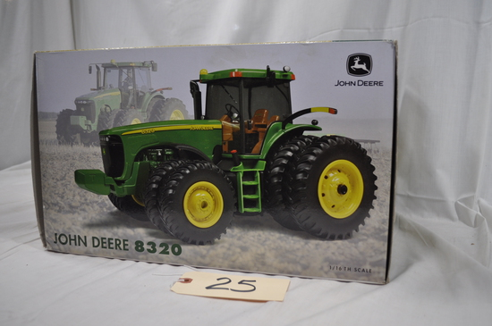 John Deere 8320 Farm Show - Fifth in a Series - Limited Edition - 1/16th scale