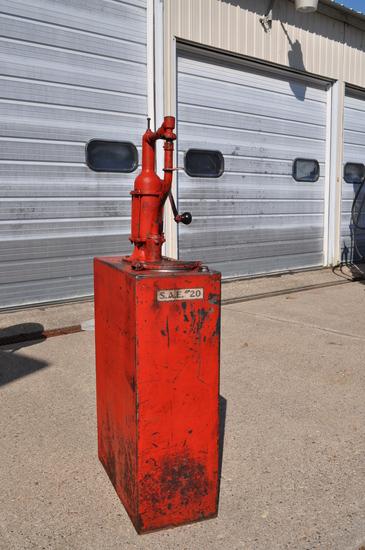 15 Gallon Oil Lubester Pump