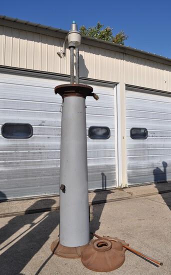 Rapidayton 600 10 Gallon Visible Gas Pump - No glass