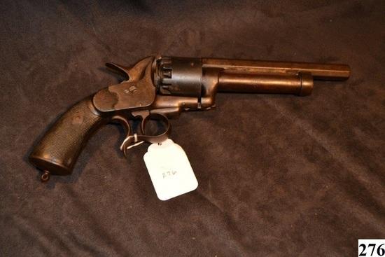 "Le Mat ""Transitional"" model revolver S/N: 591"