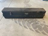 Wooden Machine Gun Box