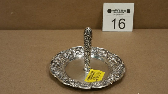 Sterling Silver Ring Holder by S. Kirk & Son