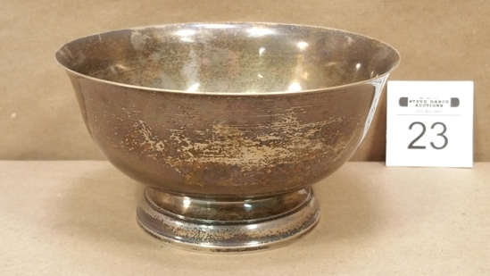 Sterling Silver Revere Style Bowl