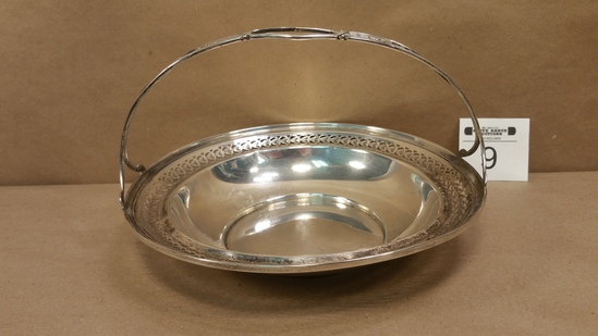 Sterling Silver Riticulated Bowl