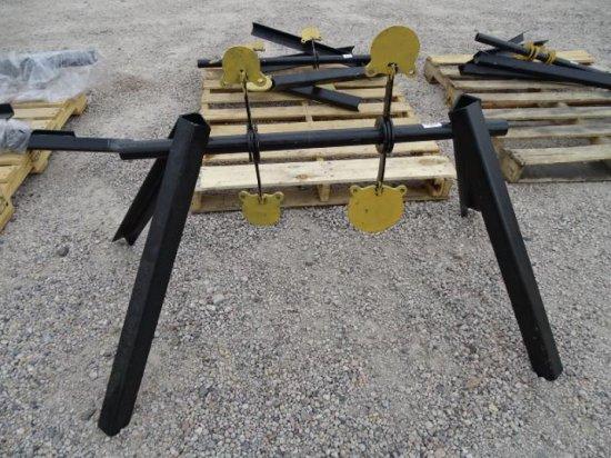 KT Unused AR500 3/8in Spinner Target