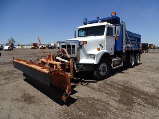 2002 FREIGHTLINER T/A Dump Truck, Cummins ISM Diesel, Automatic, Tuf-Trac Suspension, 15' Dump Box