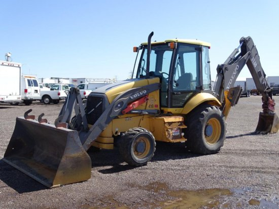 2005 Volvo BL60 4WD Extendahoe Loader/ Backhoe, EROPS, 24in Hoe Bucket, City Unit, Hour Meter Reads: