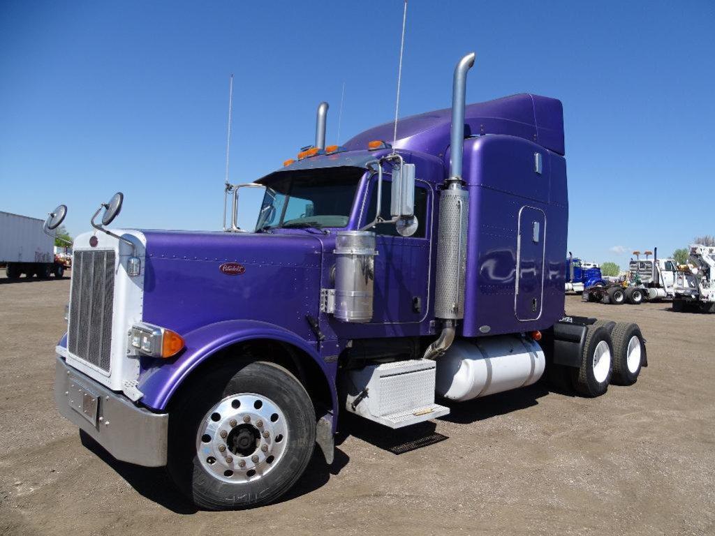 2007 PETERBILT 379 T/A Truck Tractor, Caterpillar 550 HP Diesel, 10-Speed Transmission, 4-Bag Air