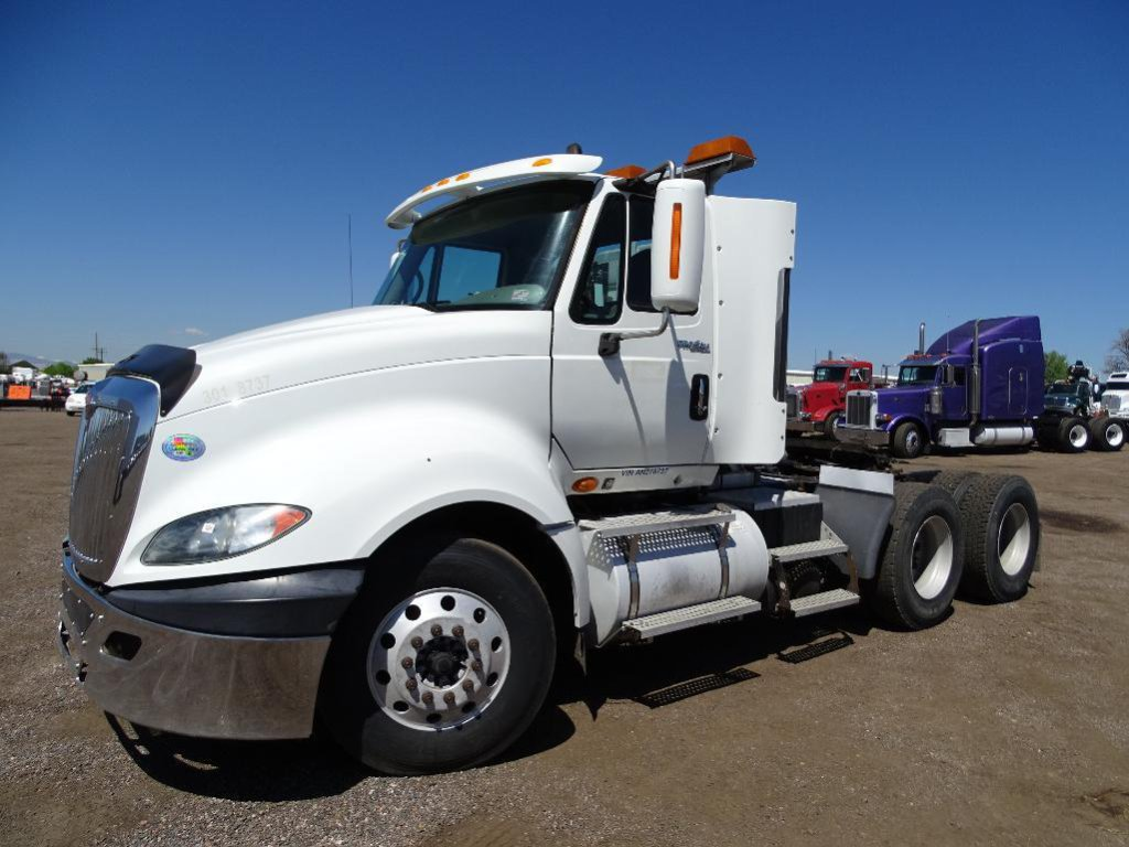 2010 INTERNATIONAL PROSTAR T/A Truck Tractor, Day Cab, Cummins ISX Diesel, 485 HP, 13-Speed