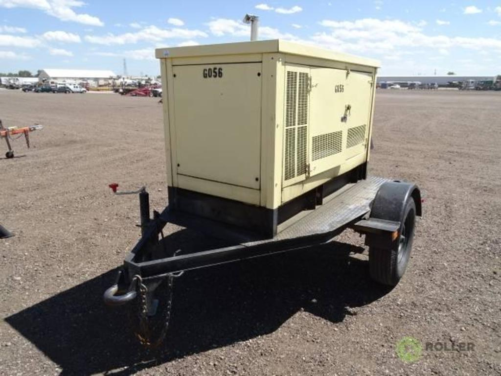 Lot: Kohler S/A Towable Generator, 10 KW, Yanmar 3-Cylinder