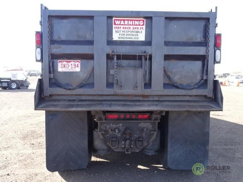 Lot: 2011 INTERNATIONAL PROSTAR Plus T/A Dump Truck, Maxx