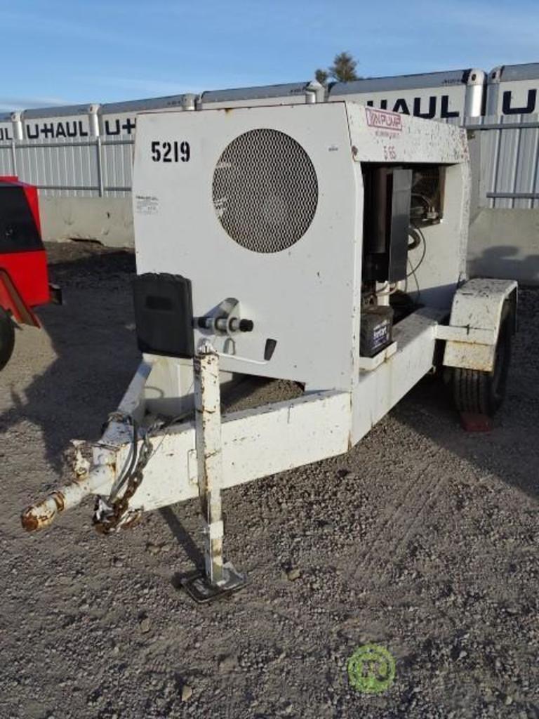 Lot: 2005 TRLR Olin Millennium Towable Concrete Pump, Series