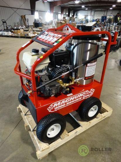New Easy Kleen Magnum 4000 Hot Water Pressure Washer, 4000 PSI, Gas Engine, Diesel Burner, Hose &