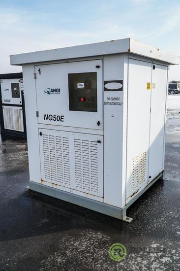 Angi NG50E CNG Fuel Compressor, County Unit