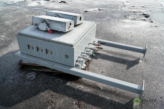 Angi PP-050-P-N-3 Compressor, Priority Panel, (2) Circuit Breakers, County Unit