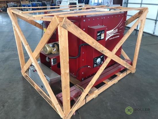 New Microair Clean Air Systems CPF-7 Dust Collector, S/N: 1109500