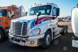 2014 FREIGHTLINER CASCADIA T/A Truck Tractor, Cummins ISX 15 Diesel, 450 HP, 10-Speed Transmission,