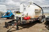 1999 VACMASTER SPV-800 T/A Vacuum Trailer, 800-Gallon Capacity, Kohler Gas Engine, Mounted on Maxey