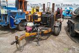 2003 Gilg S/A Towable Tack Trailer, Honda Gas Engine, Ball Hitch, VIN: 1P9BT111531446016, Not a