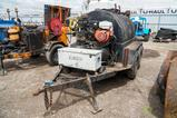 T/A Towable Crack Sealing Machine, Honda 13 HP Gas Engine, Ball Hitch, Not a Titled Unit