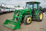 2009 John Deere 5093E 4WD Tractor/Loader, Enclosed Cab w/ Heat & A/C, PTO, 3-Pt, Shuttle