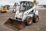 2002 Bobcat A220 Skid Steer Loader, Auxiliary Hydraulics, 72in Bucket, 12-16.5 Tires, Turbo, All