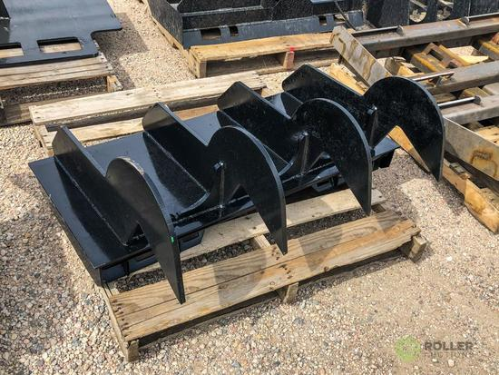 New Kit Reverse Ripping Attachment To Fit Skid Steer Loader