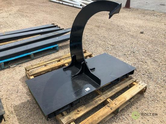 New Kit Single Beaver Claw Attachment To Fit Skid Steer Loader