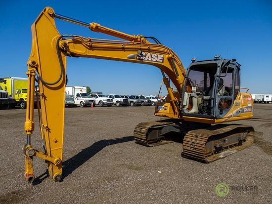 2007 Case CX130 Hydraulic Excavator, 24in TBG, No Bucket, Hour Meter Reads: 3476, S/N: DAC132122