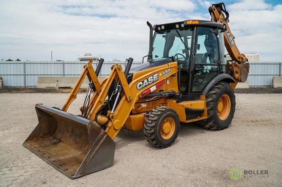 2012 Case 580 Super N 4WD Loader/Backhoe, Extendahoe, Auxiliary Hydraulics, EROPS, 30in Hoe Bucket,