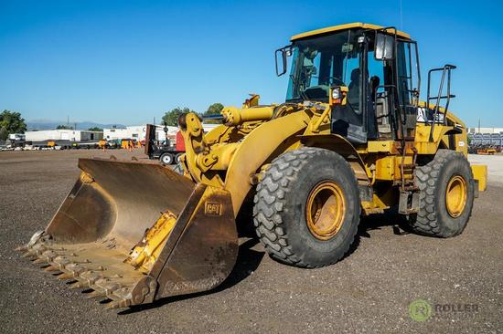 2006 Caterpillar 950H Wheel Loader, A/C Cab, Quick Coupler, 23.5-R25 Tires, Hour Meter Reads: 4162,