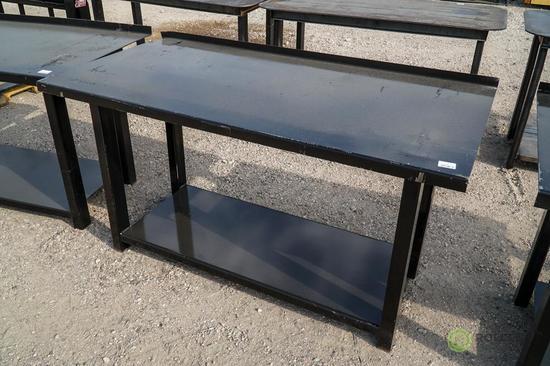New Kit 29.5in x 60in Heavy Duty Work Bench w/ Shelf