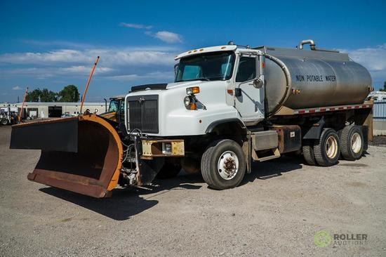 2005 INTERNATIONAL 5600I T/A 6x6 Water Truck, Cummins ISX400 Diesel, Automatic, Hendrickson Rubber