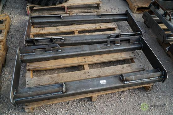 (2) New KT Skid Steer Frame Attachments