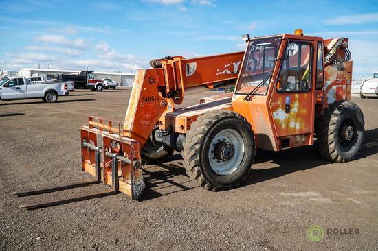 SKY TRAK 8042 Telescopic Forklift, 4x4, 8000 LB Capacity, 42' Reach, 3-Stage Boom, Cummins Diesel,