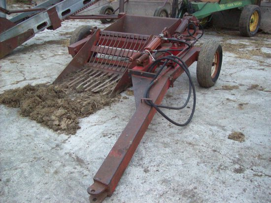 Pull Type Rock Picker