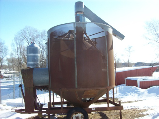 Tox-O-Wick 200 Bu Batch Dryer On Wheels