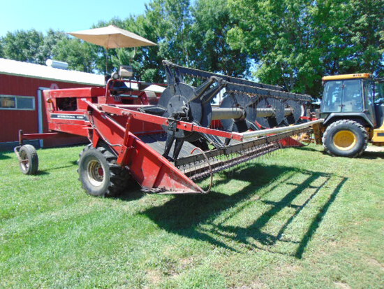 IH4000 Swather 14' head with crimper