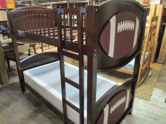 Twin Sized Football Bunk Bed Auctions Online Proxibid